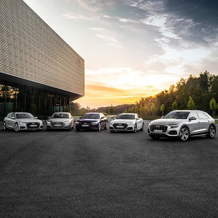 Verschiedene Audi Modelle