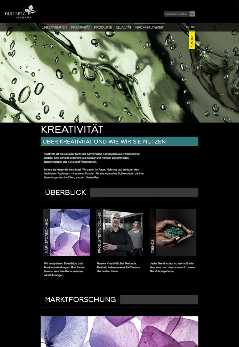 Düllberg Website Relaunch