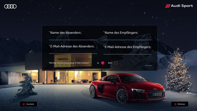 Audi Christmas E-Card 2015